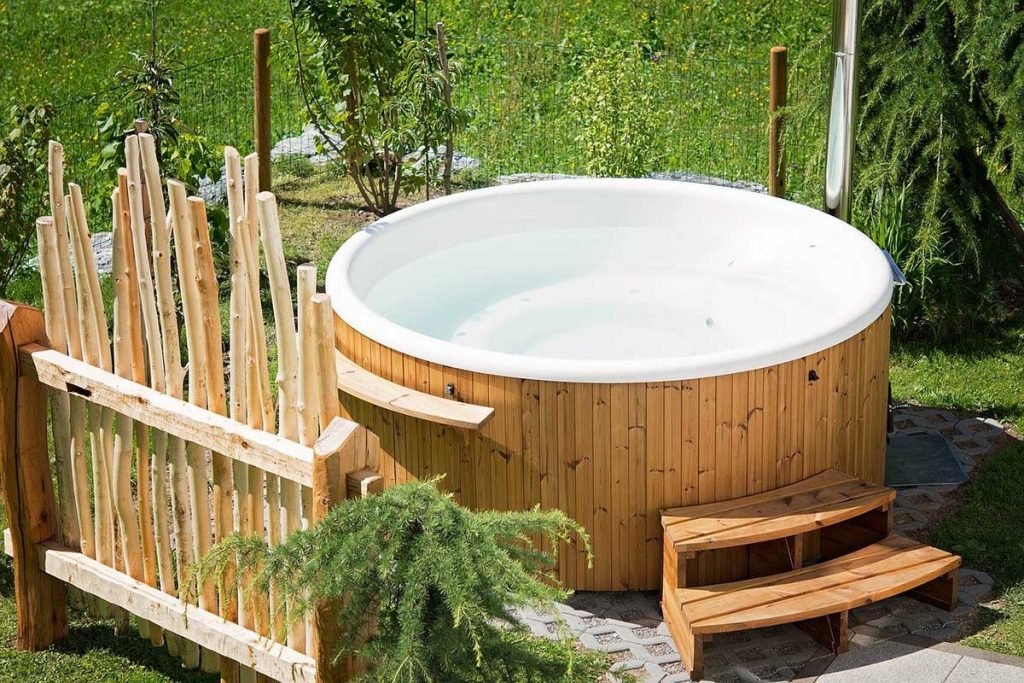 hot tub relaxation